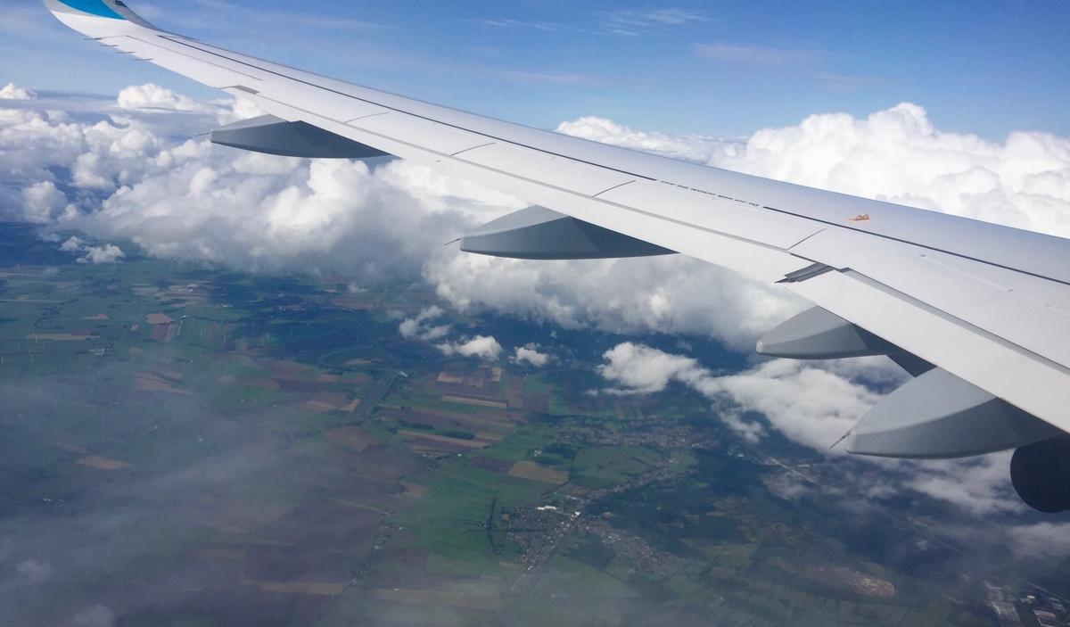 Flugzeugtragfläche