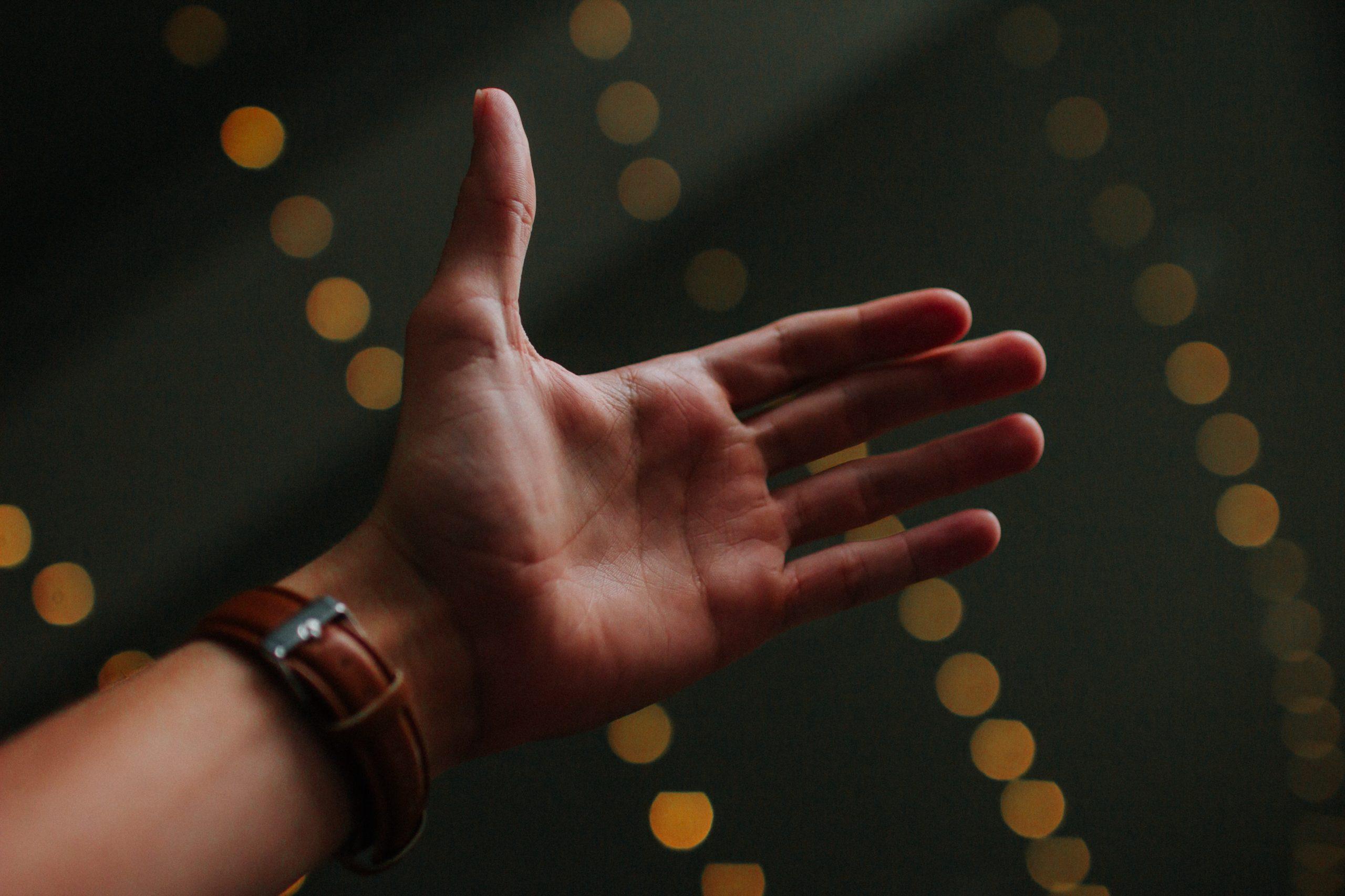 """""""person's left palm"""""""