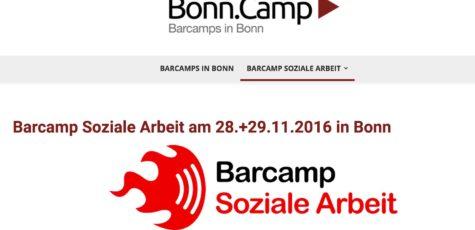 Erstes Barcamp Soziale Arbeit