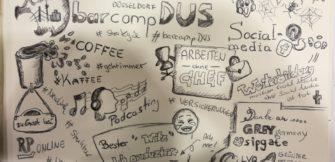 Eine Barcamp-Anfängerin entdeckt das Barcamp Düsseldorf 2017