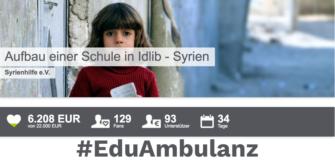#EduAmbulanz: Bildung in Syrien unterstützen