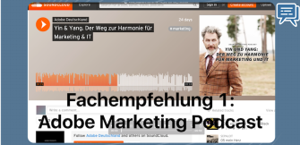 Fachempfehlung 1: Der Adobe Marketing Podcast