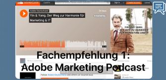 Fachempfehlung 1: Der Adobe Marketing Podcast
