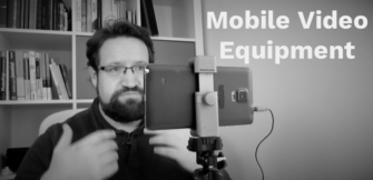 Mein Mobile Video Equipment #Worknote1
