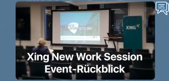 New Work Session: Event-Rückblick und Networking Tipps