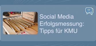 Social Media Erfolgsmessung: Tipps für KMU