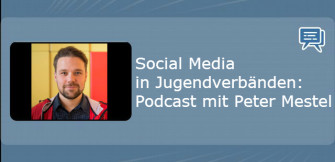 Social Media in Jugendverbänden: Podcast mit Peter Mestel