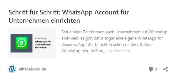 Schritt für Schritt: WhatsApp Account für Unternehmen einrichten.